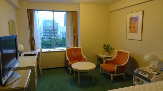 Tokyo Prince Hotel: Room