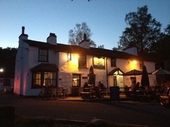 The Britannia Inn: The Brit at night