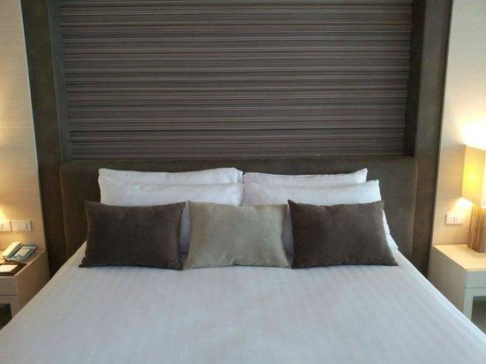 Cape Dara Resort: our bed
