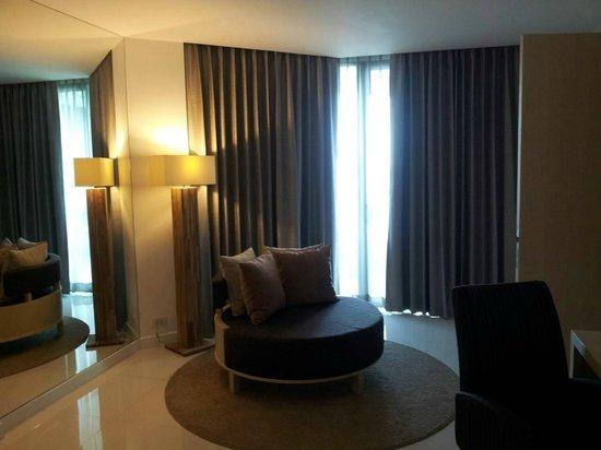 Cape Dara Resort: the room