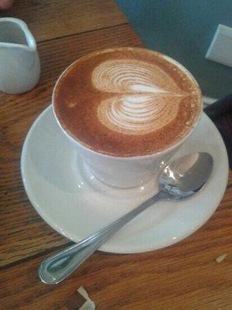 Apprentice Restaurant: Red cappuccino