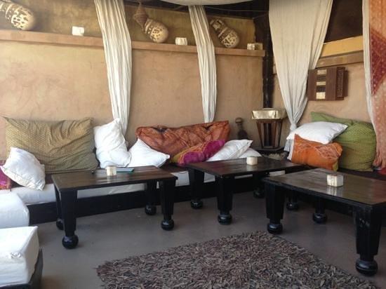 Riad Lola: terrace