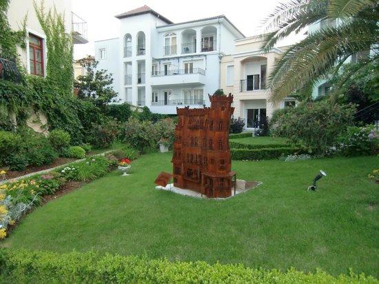 Hotel Miramar: Garten