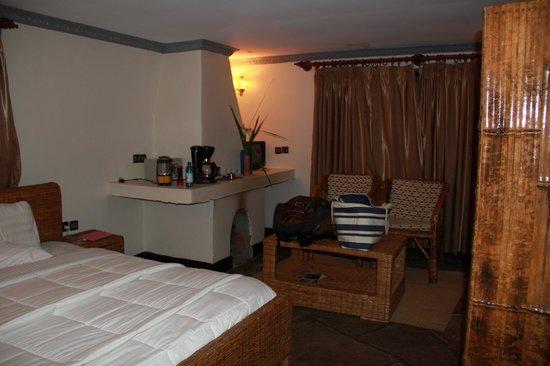 Le Bambou Gorilla Lodge: The room