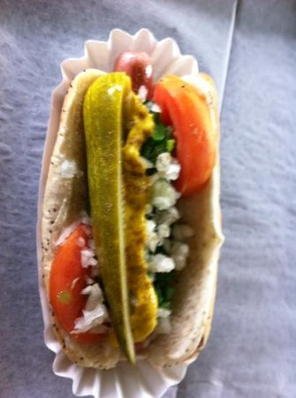 Lipuma's Coney Island : good dog .... pickle was hard to chew though