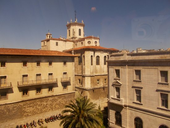 Hotel Bahia Santander: View from window