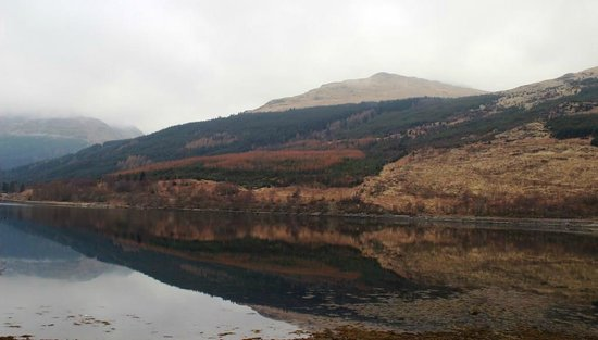 Lochside Guest House: Amazing view from our bedroom window.