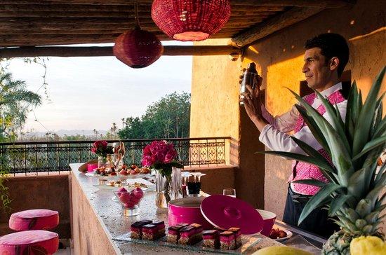 Tigmiza - Suites & Pavillons: terrasse 1er