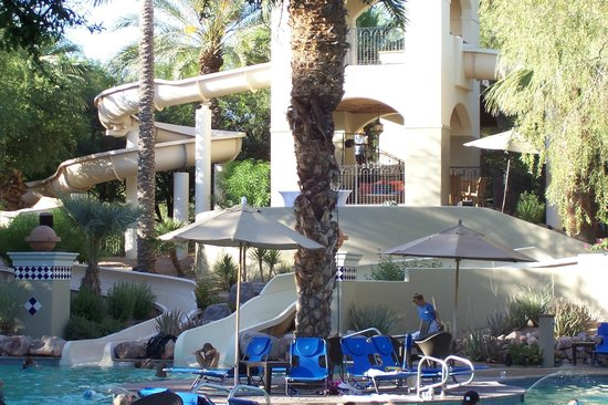 Fairmont Scottsdale Princess Waterslide
