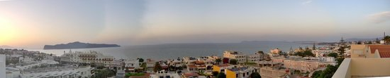 Blue Villas: 180 degrees view