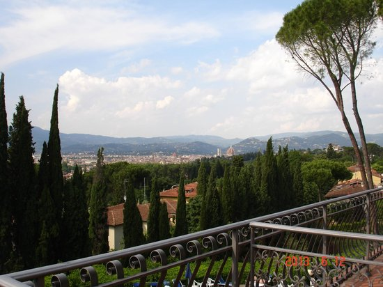 Villa Belvedere - Florence: The view from our balcony