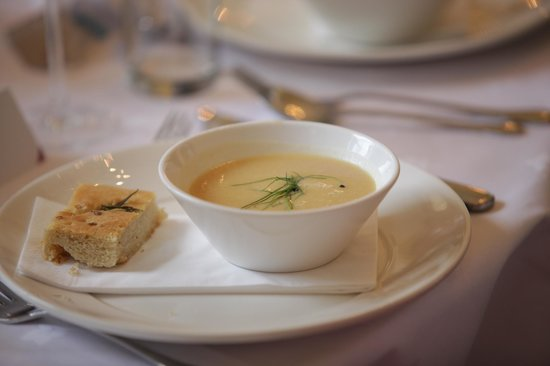beautiful soup 'white bean truffle' - Picture of Stanmer House ...