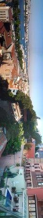 Hayriye Hanim Konagi Hotel: Vue panoramique sur la terasse de l'hôtel