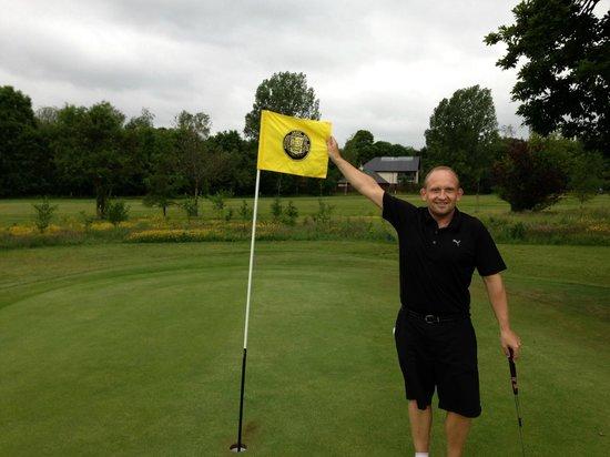 Flying The Flag At Bothwell Castle Golf Club