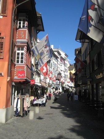 Old Town (Altstadt) : Calle típica del casco antiguo