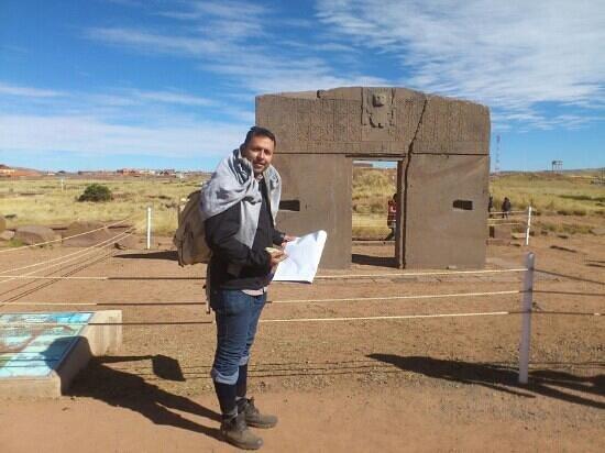 Foto de tiwanaku la paz puerta del sol tripadvisor for Puerta del sol 4