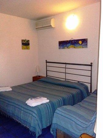 VerdeMare B&B : camera da letto