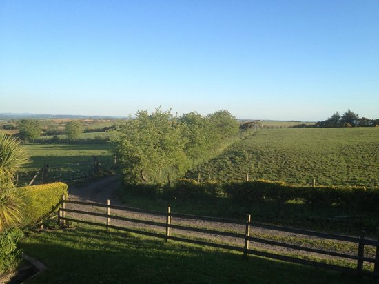 Crockgarve Bed & Breakfast: The view from my room
