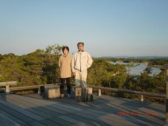 Hotel Kintetsu Aquavilla Ise Shima: 早朝の展望台