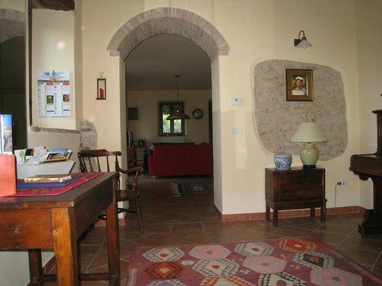 Casa Delle Sorgenti: Office/study/piano room