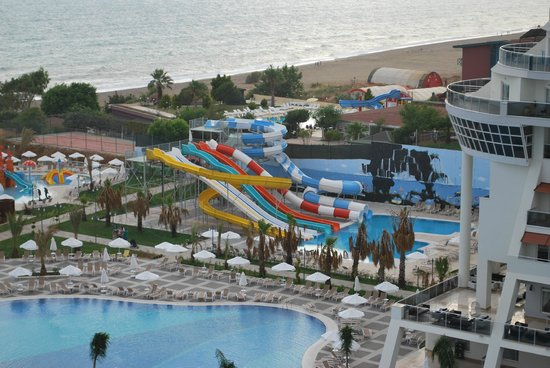 Sea Planet Resort & Spa: Ausblick aus dem Zimmer