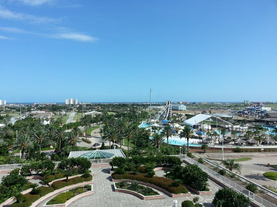 Moody Gardens Hotel Spa & Convention Center : View from Room