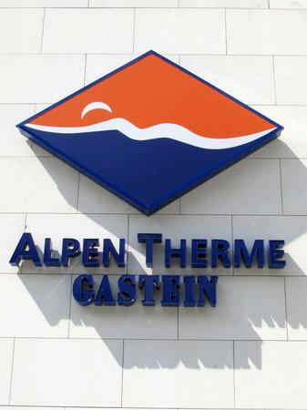 Alpentherme Gastein : Alpen Therme complex