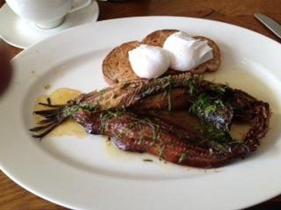 Irvins Brasserie: Craster kippers