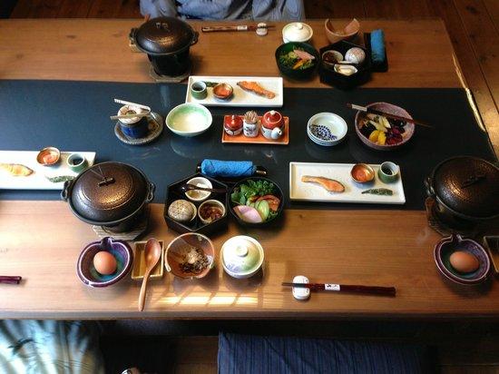 Yamashinobu: breakfast