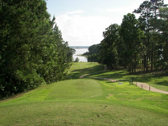 Cypress Bend Resort, BW Premier Collection: One of the holes on Golf coures