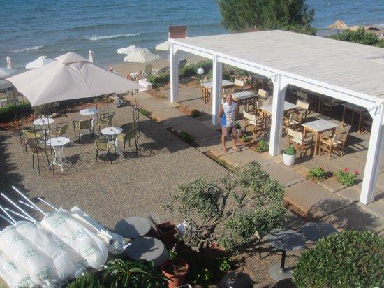 Talgo Hotel - Apartments: Garten und gedeckte Laube