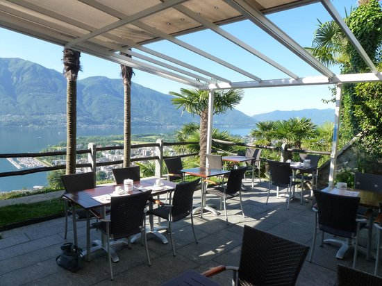 Hotel Stella Orselina : Terrace