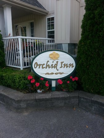Orchid Inn: In front