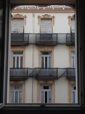 HolaHotel Del Carmen: View from the window of our hotel room
