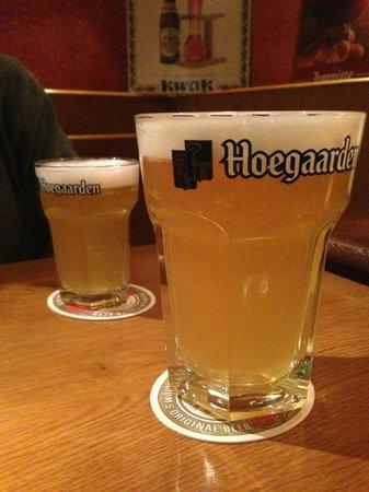 Oberon: Birra di frumento ottima e delicata!!