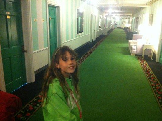 Grand Hotel: Hallway