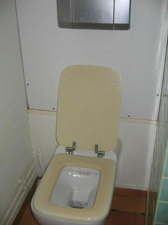Les Cottages de Lonvilliers : A square toilet