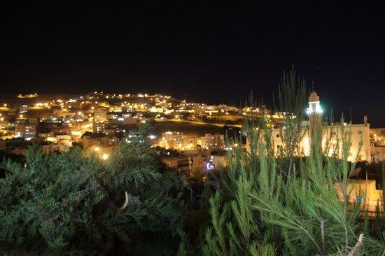 Amra Palace Hotel: panorama di notte dalla terrazza