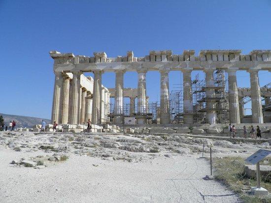 Temple of Athena Parthenos, Athens - Picture of Parthenon ...