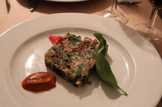 Vegetable and ham terrine - entree - Photo de Le Kitchen et ...