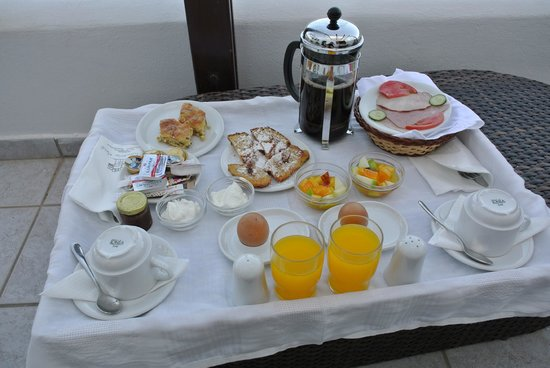 Theoxenia Boutique Hotel: The awesome breakfast!