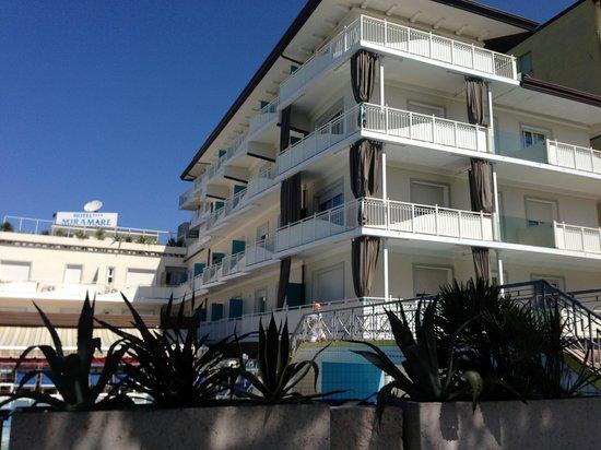 Hotel Miramare Strandsicht