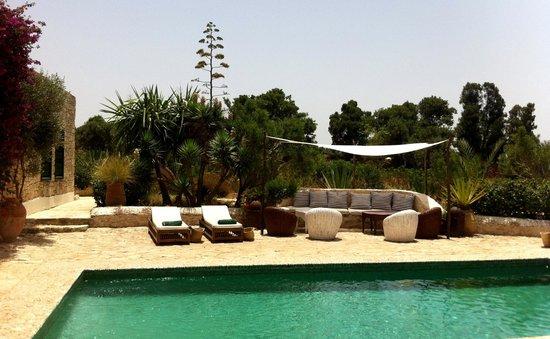Les Jardins de Villa Maroc : espace piscine