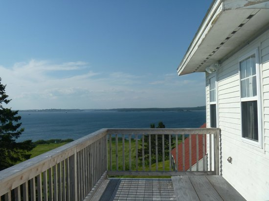 West Quoddy Head Station : View from the deck
