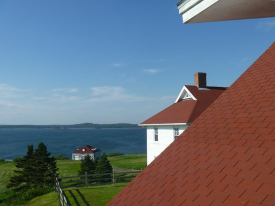 West Quoddy Head Station: View from the deck