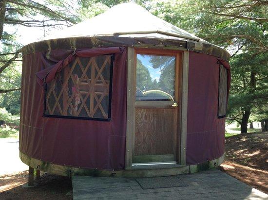 Yogi Bear's Jellystone Park Camp-Resort: Yurt