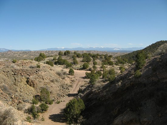 Ojo Caliente Mineral Springs Resort and Spa: View from Hiking Trail