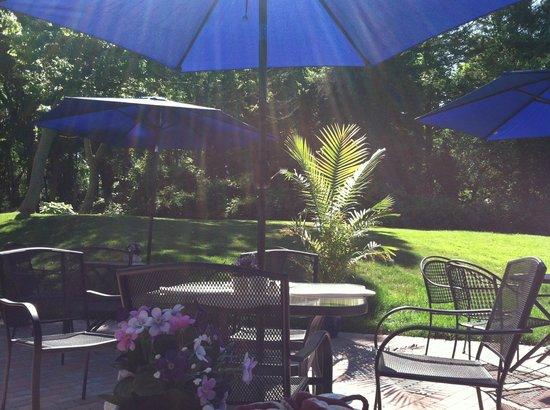 Dunbar Restaurant & Tea Room: Outdoor patio