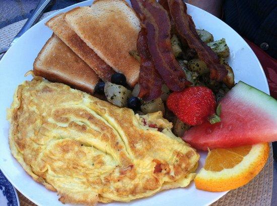 Omelet Amp Fresh Fruit Picture Of Dunbar Restaurant Amp Tea
