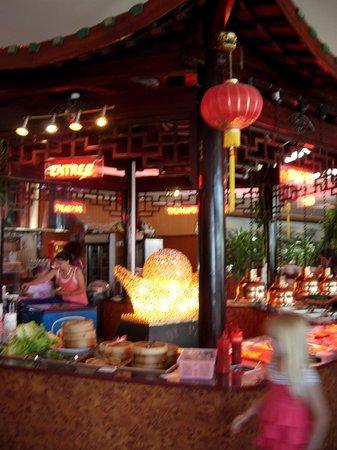 Pandy panda : la grande salle de restaurant
